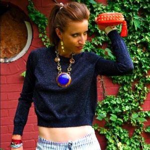 Rebecca Minkoff  |  spiked clutch